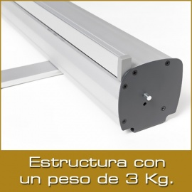 Roll-Up PLUS - 200x200 cm.