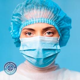 Mascarilla quirúrgica TIPO IIR . PACK DE 10 MASCARILLAS. MARCADO CE