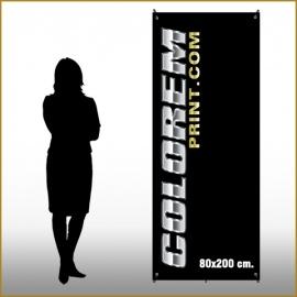 X-Banner 80x200 cm.