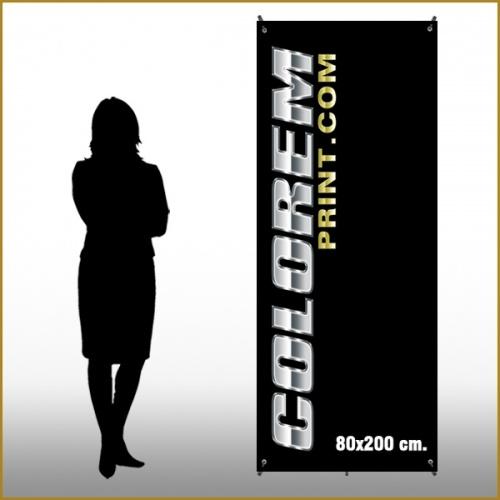 X-Banner 60x160 cm.